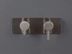 Miscelatore per doccia a 2 fori in acciaio inox con deviatore FORTY - 1210241/2 - Forty