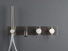 Miscelatore doccia/vasca da parete con deviatore e doccetta FORTY - 1210341/2 - Forty