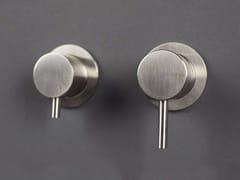 Miscelatore per doccia a 2 fori in acciaio inox con deviatore FORTY - 1210391/2 - Forty