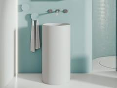 Lavabo freestanding rotondo in ceramicaFOUNT 1 | Lavabo - MOBIL CRAB