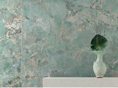 Pavimento/rivestimento in gres porcellanato effetto marmoFOYER ROYAL GREEN AMA - CERAMICHE MARCA CORONA