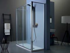 TAMANACO, FPSC50 + FISSO | Box doccia centro stanza  Box doccia centro stanza