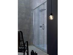 Box doccia in cristallo con porta scorrevoleFPSC50 | Box doccia a nicchia - TAMANACO