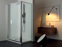 Box doccia angolareFPSL60 + FISSO | Box doccia angolare - TAMANACO