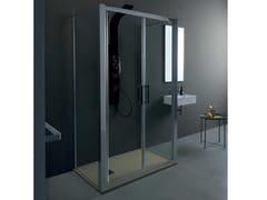 Box doccia centro stanzaFPSL60 + FISSO | Box doccia centro stanza - TAMANACO