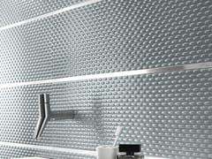 Piastrelle con superficie tridimensionale in ceramica a pasta bianca FRAME | Rivestimento tridimensionale - Frame