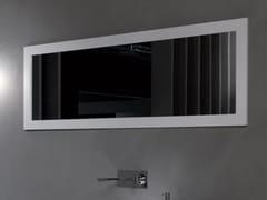 RIFRA, FRAME Specchio per bagno da parete con cornice in MDF laccato