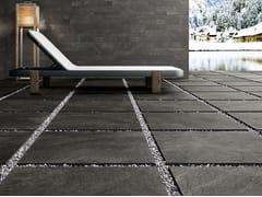 Pavimento per esterni in gres porcellanato effetto pietraFRAME 20MM - PANARIA CERAMICA