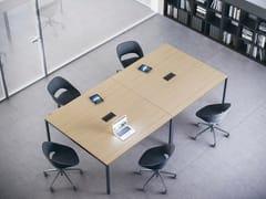 Tavolo da riunione quadrato FRAMEWORK 2.0   Tavolo da riunione quadrato - Framework 2.0