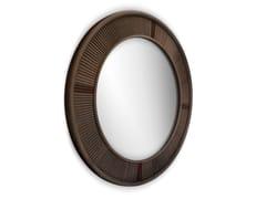 Specchio rotondo con corniceFRANCIS - WOOD TAILORS CLUB