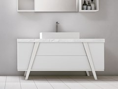 Mobile lavabo da terra con cassetti FRATINO 04 - Fratino
