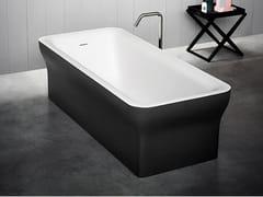 Vasca da bagno centro stanza rettangolare in Cristalplant®NOVECENTO | Vasca da bagno centro stanza - AGAPE