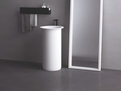 Lavabo freestanding rotondo IN-OUT | Lavabo freestanding - AGAPE