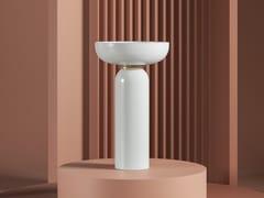 Lavabo freestanding rotondo in ceramicaJOLIE | Lavabo freestanding - ARTCERAM