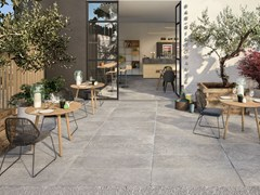 Pavimento per esterni in gres porcellanato FRENCH MOOD T20 - CERAMICHE SUPERGRES