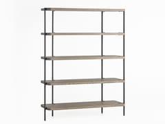 Scaffale bifacciale in acciaio e legnoFRIENDLY | Libreria - ZEGEN
