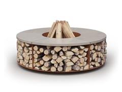 Caminetto a legna da esterno free standingFUEGO - LAUBO