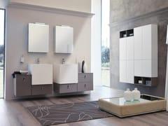 Mobile lavabo sospeso con specchioFUNKY 03 - BMT
