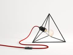 Lampada da tavolo in ferro FUOCO | Lampada da tavolo in ferro - Fuoco