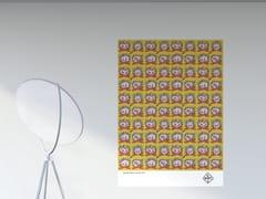 Artwork adesivo riposizionabile in pvcFUOCO VIVO | Poster - PPPATTERN