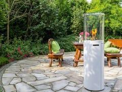 Caminetto a gas da esterno con vetro panoramicoFUORA R - SPARTHERM® FEUERUNGSTECHNIK