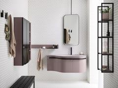 Mobile lavabo singolo con cassettiFUSION 32 - ARBI ARREDOBAGNO