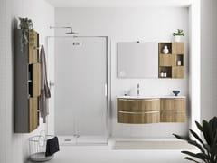 Mobile lavabo singolo con lavabo integratoFUSION 34 - ARBI ARREDOBAGNO