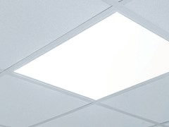 Lampada per controsoffitti a LED in metacrilato FUTURA | Lampada da soffitto a incasso -