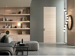 Porta a battente in alluminio e legno G-LIKE | Porta - Moderno