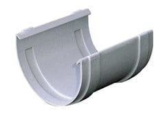 Accessorio per canale di gronda in PVC G100GN - First Plast