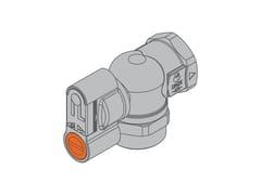Valvola filettata per contatore gas bituboG2 PA Valvola 90° frontale versione f/f - TECO