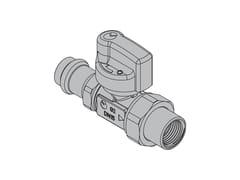 Valvole per apparecchi gasG2 Valvola dritta FIREBAG® a pressare - TECO