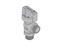 Valvole per apparecchi gas con tubi flessibiliG2 Valvola 90° con FIREBAG® filettata - TECO