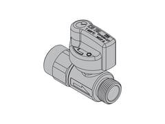 Valvole per apparecchi gas con tubi flessibiliG2 Valvola dritta con FIREBAG® filettata - TECO