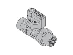 Valvole per apparecchi gasG2 Valvola dritta con FIREBAG® filettata - TECO