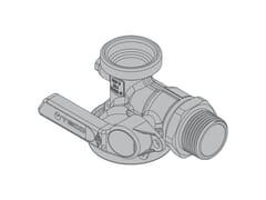 Valvola a squadra per contatore gas monotuboG6 Valvola a 90° filettata - TECO