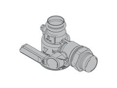 Valvola a squadra per contatore gas monotuboG6 Valvola a 90° monoblocco - TECO