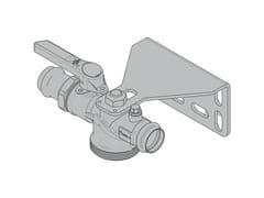 Valvola dritta per contatore gas monotuboG6 Valvola dritta monoblocco - TECO