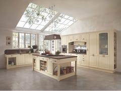 Cucina in legno con isola con maniglieGALA 03 - FEBAL CASA