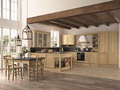 Cucina in legno con maniglie con penisolaGALA 04 - FEBAL CASA