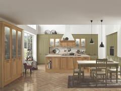 Cucina in legno con isola con maniglieGALA 05 - FEBAL CASA