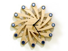 Orologio in compensato da pareteGALAXY - ARDEOLA