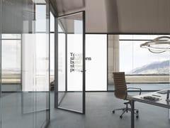 Parete mobile in vetro per ufficioGALILEO - THE ITALIAN SIGN
