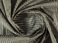 Tessuto lavabile in velluto con motivi graficiGALLERIA - MORE FABRICS