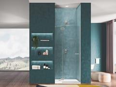 Box doccia a nicchia in cristallo con porta a battenteGALLERY 3000 | Box doccia a nicchia - DUKA