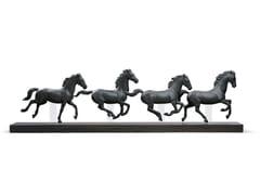 Scultura in porcellanaGALLOPING HERD HORSES - LLADRÓ