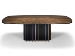 Tavolo ovale in legnoGARBO | Tavolo in legno - TRIPLEX INTERIORES