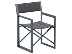 Sedia da giardino in alluminio con braccioliBISTRO | Sedia da giardino - JARDINICO