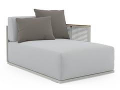 Dormeuse da giardino in tessuto e alluminio termolaccatoBOSC 2 - GANDIA BLASCO