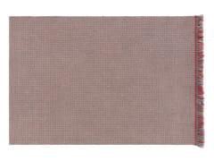 Tappeto a motivi rettangolare in polipropilene per esterni GARDEN LAYERS BLUE | Tappeto rettangolare - Garden Layers